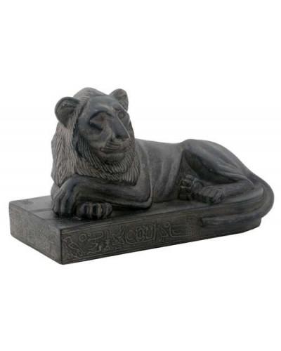 Egyptian Reclining Lion Mini Statue