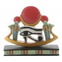 Wedjat Eye of Horus Mini Statue