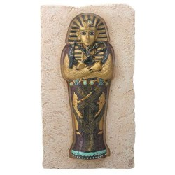 King Tut Coffin Plaque