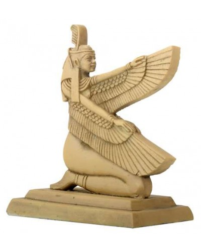 Hieroglyphic Maat Egyptian Statue at Egyptian Marketplace,  Egyptian Decor Statues, Jewelry & Art - God Statues & Museum Replicas