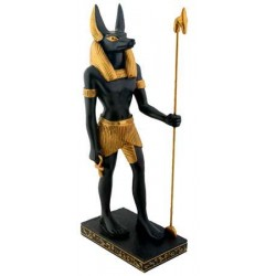 Anubis Egyptian Dog God Statue 8 Inches Egyptian Marketplace  Egyptian Decor Statues, Jewelry & Art - God Statues & Museum Replicas