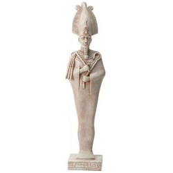 Osiris Egyptian God Limestone Color Statue - 8.5 Inches Egyptian Marketplace  Egyptian Decor Statues, Jewelry & Art - God Statues & Museum Replicas