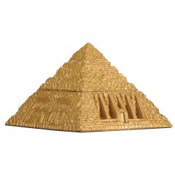 Pyramid Egyptian Golden 3 Inch Box Egyptian Marketplace  Egyptian Decor Statues, Jewelry & Art - God Statues & Museum Replicas