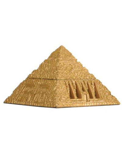 Pyramid Egyptian Golden 3 Inch Box at Egyptian Marketplace,  Egyptian Decor Statues, Jewelry & Art - God Statues & Museum Replicas