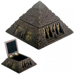 Pyramid Egyptian Bronze Finish 2 3/4 Inch Box Egyptian Marketplace  Egyptian Decor Statues, Jewelry & Art - God Statues & Museum Replicas