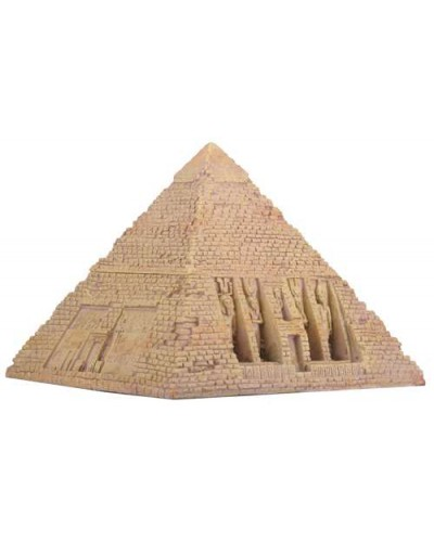Pyramid Egyptian Sandstone 5.75 Inch Box at Egyptian Marketplace,  Egyptian Decor Statues, Jewelry & Art - God Statues & Museum Replicas
