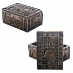 Isis Bronze Resin Jewelry Box at Egyptian Marketplace,  Egyptian Decor Statues, Jewelry & Art - God Statues & Museum Replicas