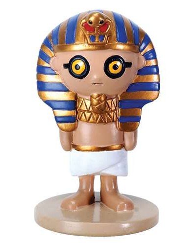 Weegyptians King Tut Mini Statue at Egyptian Marketplace,  Egyptian Decor Statues, Jewelry & Art - God Statues & Museum Replicas