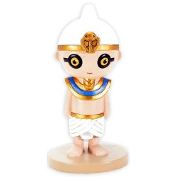 Weegyptians Ramses III Egyptian Pharaoh Mini Statue Egyptian Marketplace  Egyptian Decor Statues, Jewelry & Art - God Statues & Museum Replicas