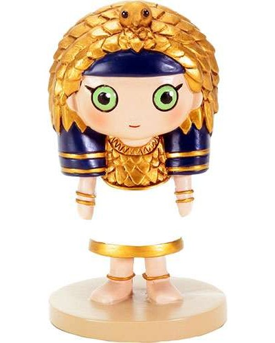 Weegyptians Queen Cleopatra Mini Statue at Egyptian Marketplace,  Egyptian Decor Statues, Jewelry & Art - God Statues & Museum Replicas