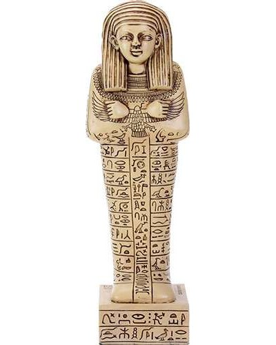 Shabti Egyptian Mummy Egyptian Tomb Figure at Egyptian Marketplace,  Egyptian Decor Statues, Jewelry & Art - God Statues & Museum Replicas
