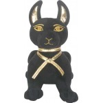 Anubis Egyptian Dog Laying Small Plushie at Egyptian Marketplace,  Egyptian Decor Statues, Jewelry & Art - God Statues & Museum Replicas