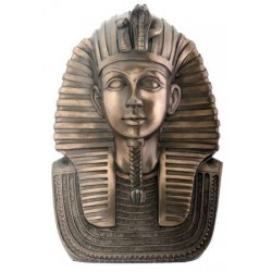 King Tut Bronze Resin Bust Egyptian Marketplace  Egyptian Decor Statues, Jewelry & Art - God Statues & Museum Replicas