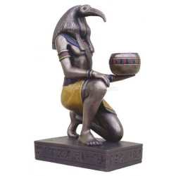 Thoth Egyptian Candle Holder Egyptian Marketplace  Egyptian Decor Statues, Jewelry & Art - God Statues & Museum Replicas