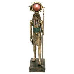 Ra-Harakti Horus God of Light Large Statue Egyptian Marketplace  Egyptian Decor Statues, Jewelry & Art - God Statues & Museum Replicas