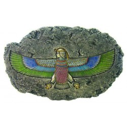 Isis Winged Egyptian Goddess Relief Plaque Egyptian Marketplace  Egyptian Decor Statues, Jewelry & Art - God Statues & Museum Replicas