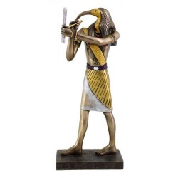Thoth Egyptian God of Wisdom 9 Inch Statue Egyptian Marketplace  Egyptian Decor Statues, Jewelry & Art - God Statues & Museum Replicas