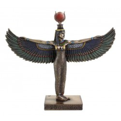 Winged Isis Standing Egyptian Bronze 8.5 Inch Statue Egyptian Marketplace  Egyptian Decor Statues, Jewelry & Art - God Statues & Museum Replicas