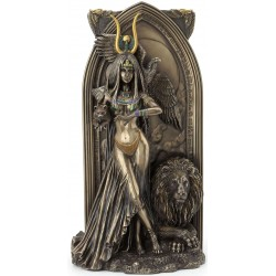 Priestess Egyptian Bronze Fantasy Art Statue Egyptian Marketplace  Egyptian Decor Statues, Jewelry & Art - God Statues & Museum Replicas
