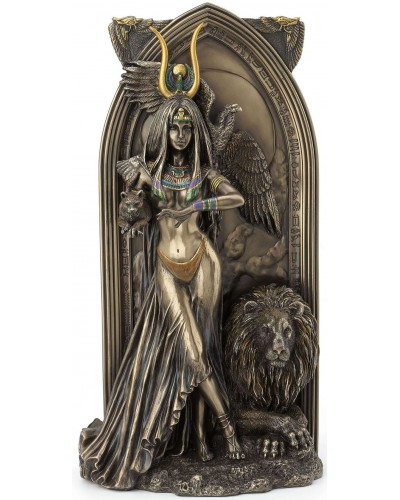 Priestess Egyptian Bronze Fantasy Art Statue at Egyptian Marketplace,  Egyptian Decor Statues, Jewelry & Art - God Statues & Museum Replicas