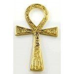 Ankh - Small Brass Egyptian Ankh 4 Inches at Egyptian Marketplace,  Egyptian Decor Statues, Jewelry & Art - God Statues & Museum Replicas