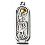 Amun Egyptian Birth Sign Pendant - April 26 - May 25 at Egyptian Marketplace,  Egyptian Decor Statues, Jewelry & Art - God Statues & Museum Replicas