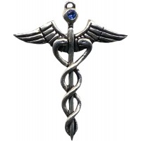 Caduceus Amulet for Healing