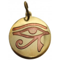 Eye of Horus Magickal Charm for Protection Egyptian Marketplace  Egyptian Decor Statues, Jewelry & Art - God Statues & Museum Replicas