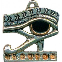 Eye of Horus Amulet for Protection Egyptian Marketplace  Egyptian Decor Statues, Jewelry & Art - God Statues & Museum Replicas