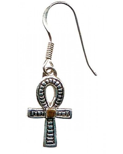 Ankh Earrings for Health, Prosperity and Long Life at Egyptian Marketplace,  Egyptian Decor Statues, Jewelry & Art - God Statues & Museum Replicas