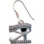 Eye of Horus Earrings for Protection at Egyptian Marketplace,  Egyptian Decor Statues, Jewelry & Art - God Statues & Museum Replicas